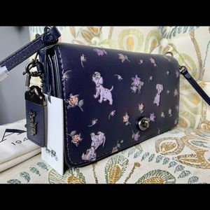 New! Coach Disney Dalmatians Crossbody Dinky Bag